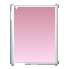 Puce To Pink Lace Gradient Apple Ipad 3/4 Case (white)