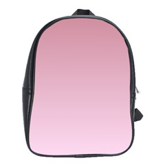 Puce To Pink Lace Gradient School Bag (xl)