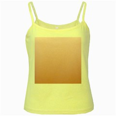 Pink Lace To Puce Gradient Yellow Spaghetti Tank