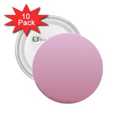 Pink Lace To Puce Gradient 2 25  Button (10 Pack) by BestCustomGiftsForYou