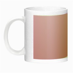 Pink Lace To Puce Gradient Glow In The Dark Mug by BestCustomGiftsForYou