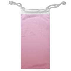 Pink Lace To Puce Gradient Jewelry Bag