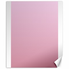 Pink Lace To Puce Gradient Canvas 20  X 24  (unframed)