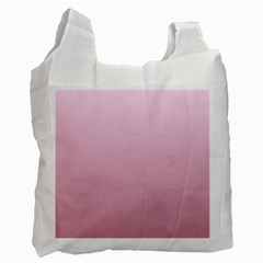 Pink Lace To Puce Gradient Recycle Bag (two Sides) by BestCustomGiftsForYou