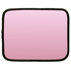 Pink Lace To Puce Gradient Netbook Case (xl)