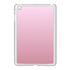 Pink Lace To Puce Gradient Apple Ipad Mini Case (white)
