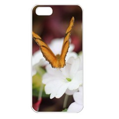 Butterfly 159 Apple Iphone 5 Seamless Case (white) by pictureperfectphotography