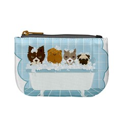 Dogs in Bath Coin Change Purse by cutepetshop