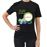 Joyful summer women t-shirt - Women s T-Shirt (Black)