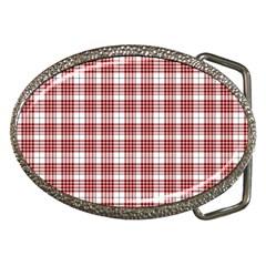 Buchanan Tartan Belt Buckle (oval) by BestCustomGiftsForYou