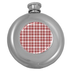 Buchanan Tartan Hip Flask (round) by BestCustomGiftsForYou