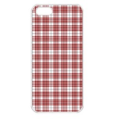 Buchanan Tartan Apple Iphone 5 Seamless Case (white) by BestCustomGiftsForYou