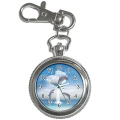 The Heart Of The Dolphins Key Chain & Watch by gatterwe