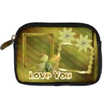 gold floral digital camera case - Digital Camera Leather Case