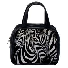 Zebra Classic Handbag (One Side)