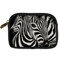 Zebra Digital Camera Leather Case by cutepetshop