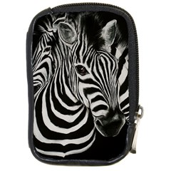 Zebra Compact Camera Leather Case by cutepetshop