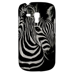 Zebra Samsung Galaxy S3 MINI I8190 Hardshell Case by cutepetshop