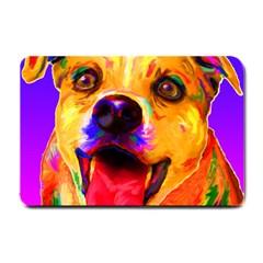 Happy Dog Small Door Mat by cutepetshop