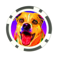 Happy Dog Poker Chip 10 Pack
