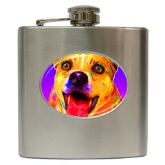 Happy Dog Hip Flask