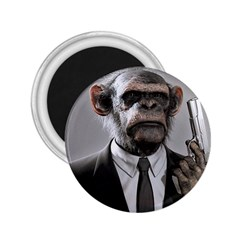 Monkey Business 2 25  Button Magnet