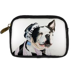 Bad Dog Digital Camera Leather Case by cutepetshop