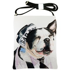 Bad Dog Shoulder Sling Bag by cutepetshop