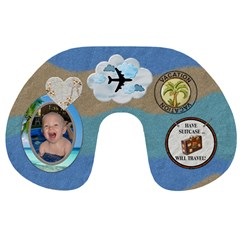 Vacation Travel Neck Pillow By Lil    Travel Neck Pillow   28mek6s3jim7   Www Artscow Com Front