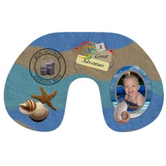 Vacation Travel Neck Pillow By Lil    Travel Neck Pillow   28mek6s3jim7   Www Artscow Com Back