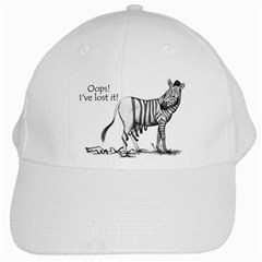 Lost White Baseball Cap by cutepetshop