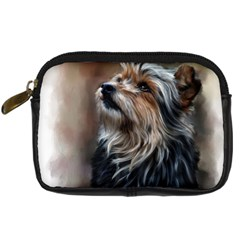 Puppy Digital Camera Leather Case by cutepetshop