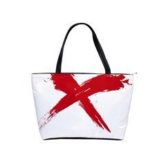 Red X Large Shoulder Bag by magann