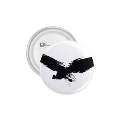 Grunge Bird 1 75  Button