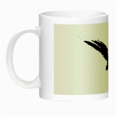 Grunge Bird Glow In The Dark Mug by magann