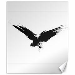 Grunge Bird Canvas 20  X 24  (unframed) by magann
