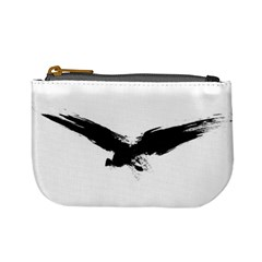 Grunge Bird Coin Change Purse by magann