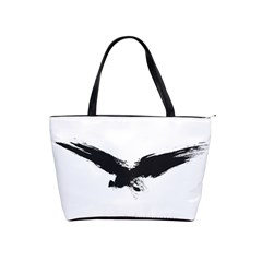 Grunge Bird Large Shoulder Bag by magann