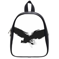 Grunge Bird School Bag (small) by magann