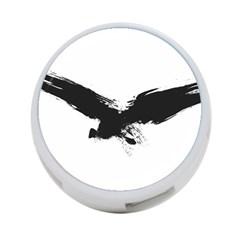 Grunge Bird 4 Port Usb Hub (two Sides)