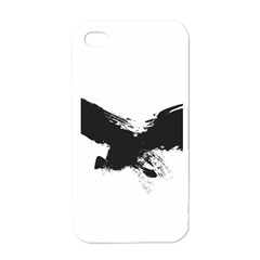 Grunge Bird Apple Iphone 4 Case (white) by magann