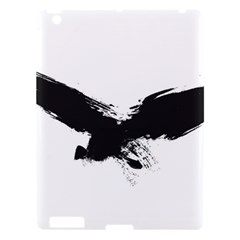 Grunge Bird Apple Ipad 3/4 Hardshell Case by magann