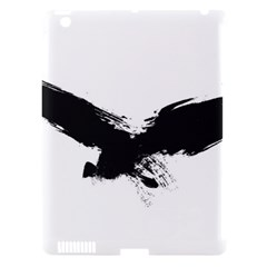 Grunge Bird Apple Ipad 3/4 Hardshell Case (compatible With Smart Cover) by magann