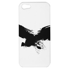 Grunge Bird Apple Iphone 5 Hardshell Case by magann