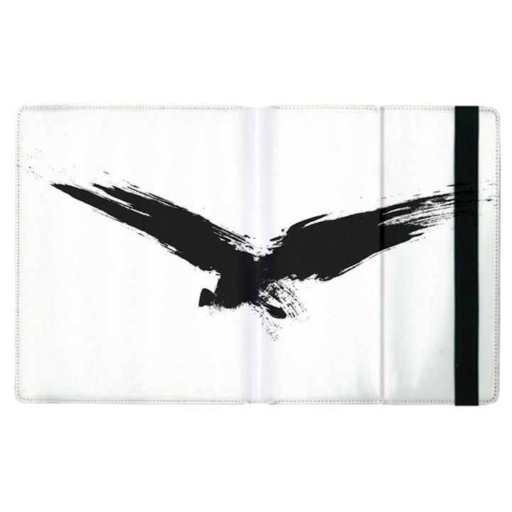 Grunge Bird Apple iPad 2 Flip Case