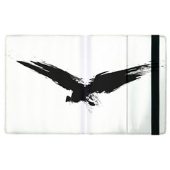 Grunge Bird Apple Ipad 3/4 Flip Case by magann