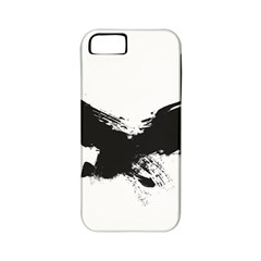 Grunge Bird Apple Iphone 5 Classic Hardshell Case (pc+silicone) by magann