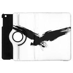 Grunge Bird Apple Ipad Mini Flip 360 Case by magann