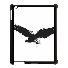 Grunge Bird Apple Ipad 3/4 Case (black) by magann