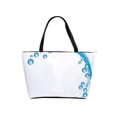 Water Swirl Large Shoulder Bag by magann